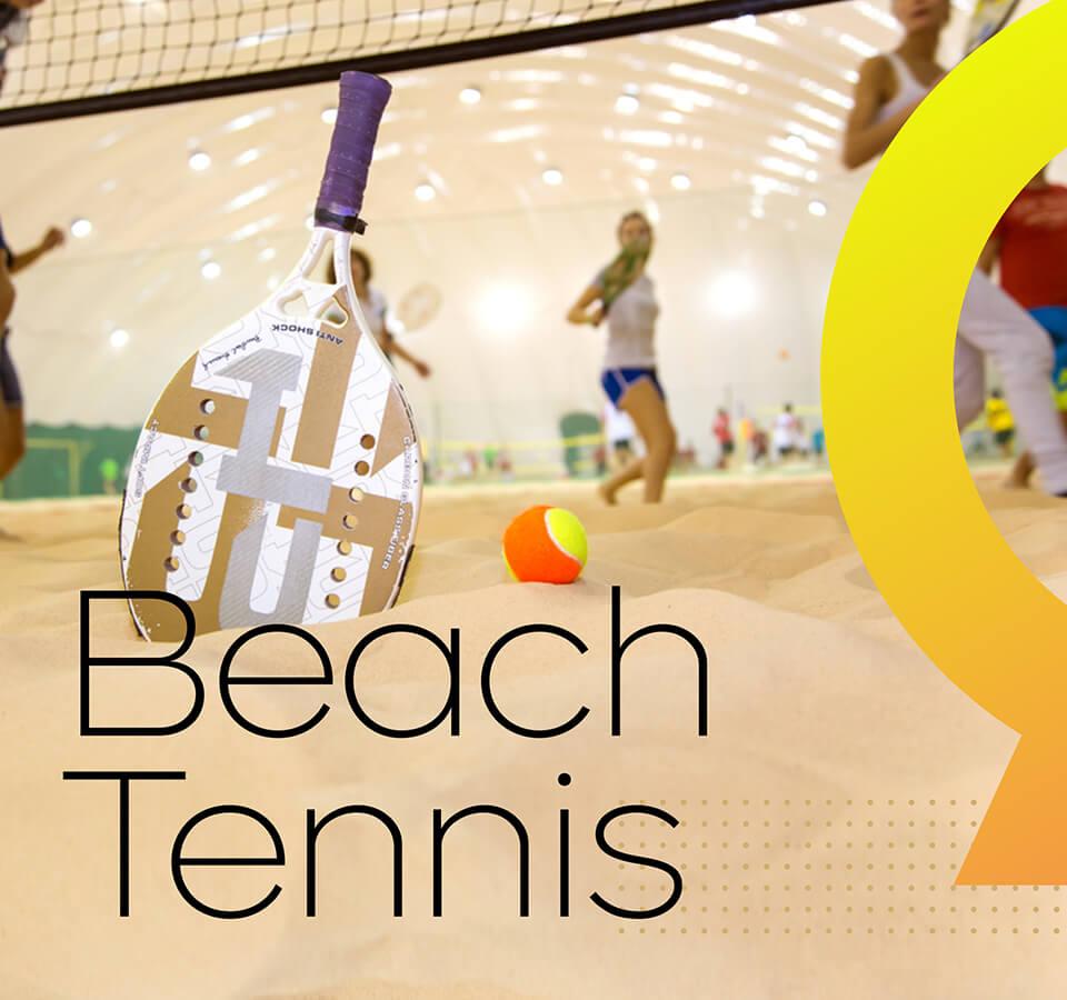 Aula de Beach Tennis em Valinhos