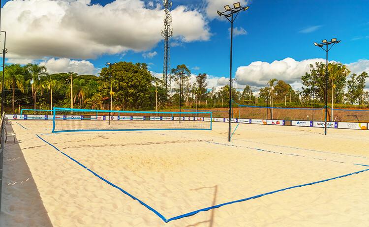 Locação de Quadra de Beach Tennis